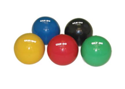 "Cando 5"" 5.5 lb. Hand Weight Ball - Blue"