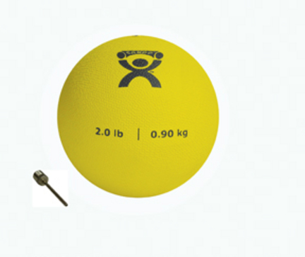 Cando 2 lb. Weighted Plyometric P.T. Ball