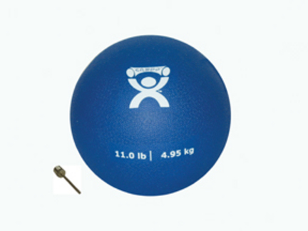 Cando 7 lb. Weighted Plyometric P.T. Ball