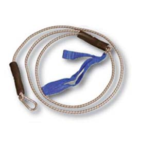 Cando 7' Blue Exercise Bungee Cord - Heavy