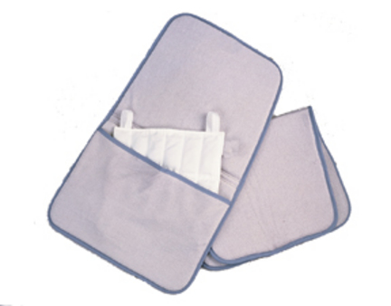Relief Pak Velour and Foam Moist Heat Pack Cover with Pocket - Standard