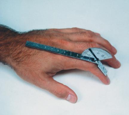 "Baseline SS 6"" Finger Goniometer"