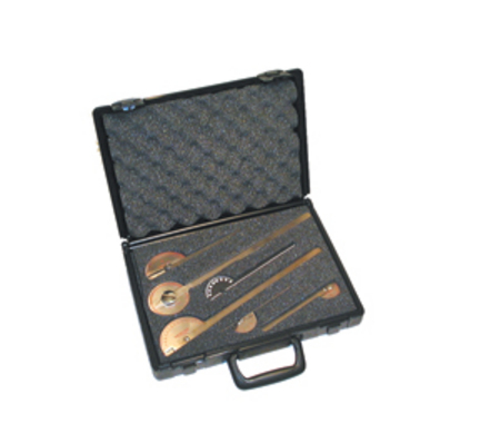 Baseline Stainless Steel 6 Piece Goniometer Set with Case