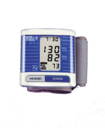 Wristwatch Blood Pressure / Pulse Monitor
