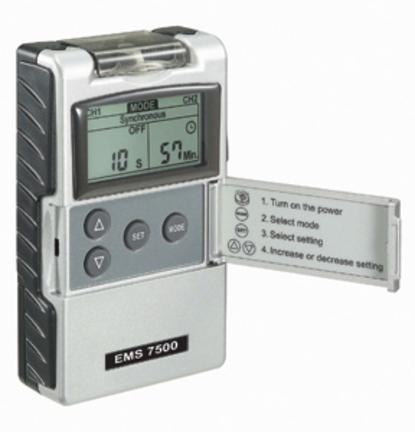 Digital 2-Channel EMS Muscle Stimulator Unit