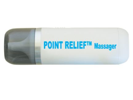 Standard Point-Relief Mini-Massager with Accessories