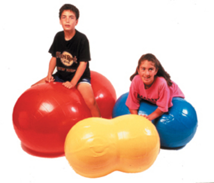 """Cando 32"""" Inflatable Exercise Saddle Roll"""