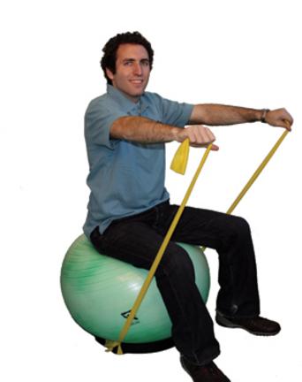 Cando® Dynamic Ball Stabilizer Base