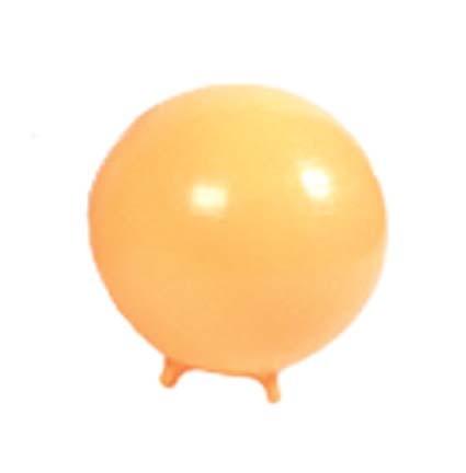 "Cando 18"" Exercise Ball with Feet - Yellow"