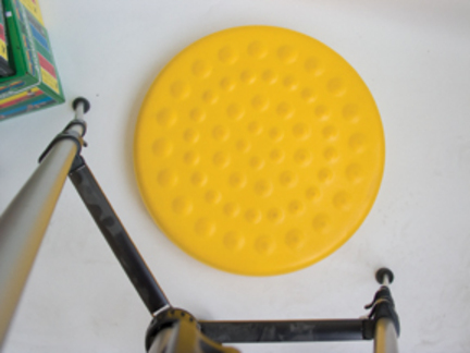 "Cando 20"" Yellow Progressive Instability Pad - Level 1"