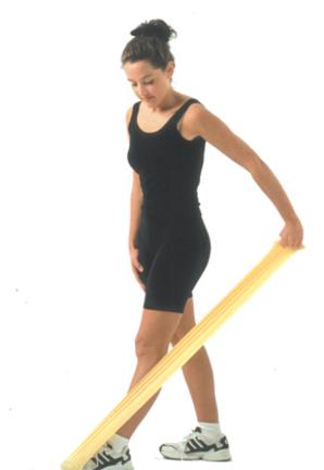 6 Yard Cando® Low Powder Exercise Band (X-Light)