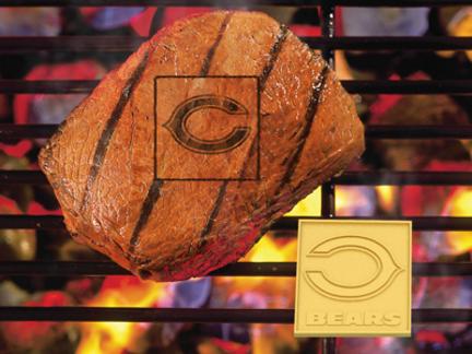 Chicago Bears Fan Brand (Set of 2) - Branding Irons