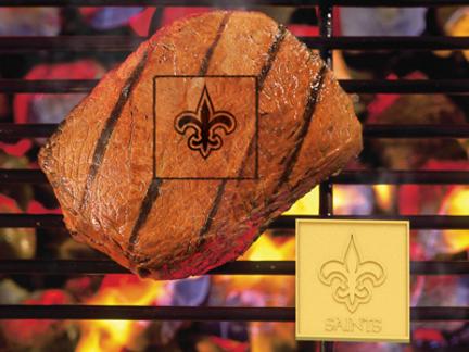 New Orleans Saints Fan Brand (Set of 2) - Branding Irons