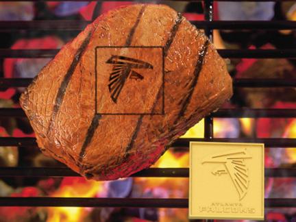 Atlanta Falcons Fan Brand (Set of 2) - Branding Irons