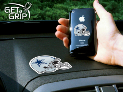 """Dallas Cowboys """"Get a Grip"""" Cell Phone Holder (Set of 2)"""