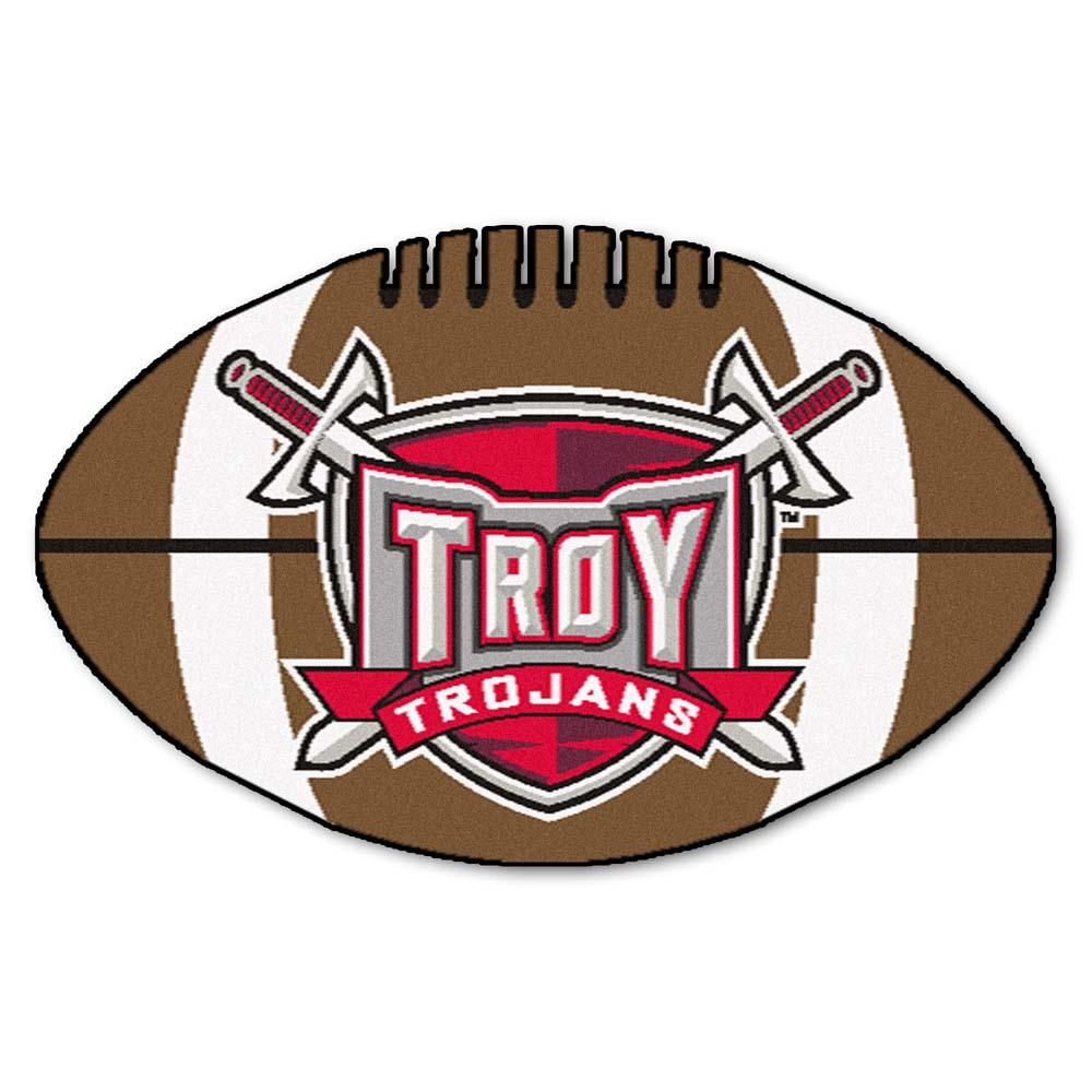 """22"""" x 35"""" Troy State Trojans Football Mat"""