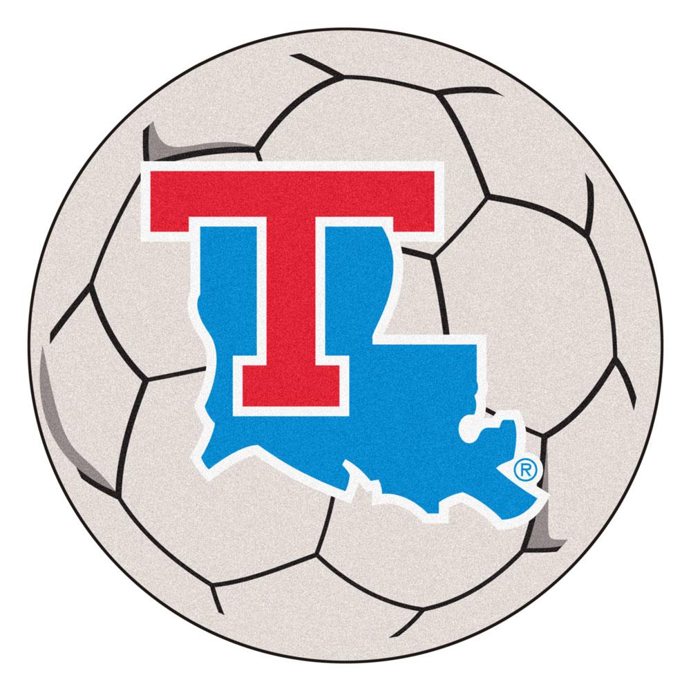"Louisiana Tech Bulldogs 27"" Round Soccer Mat"