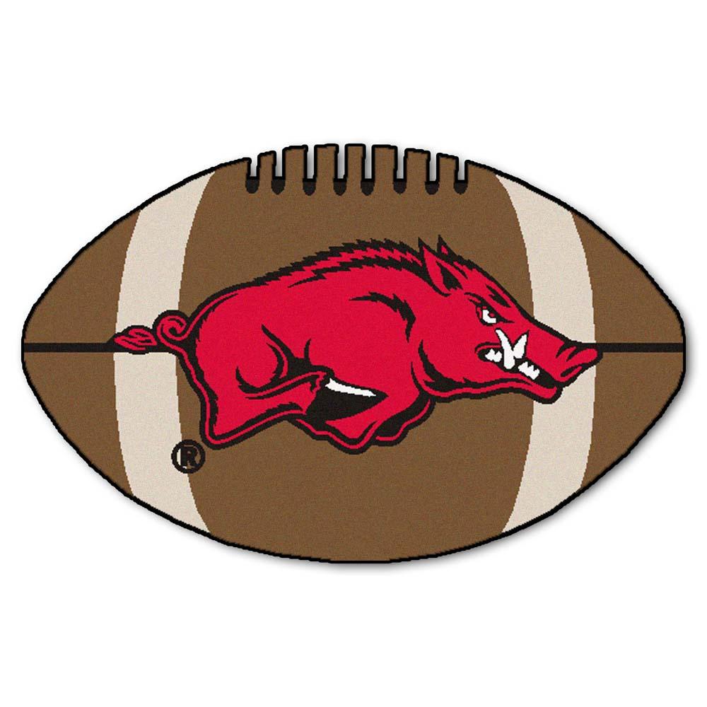 "22"" x 35"" Arkansas Razorbacks Football Mat"