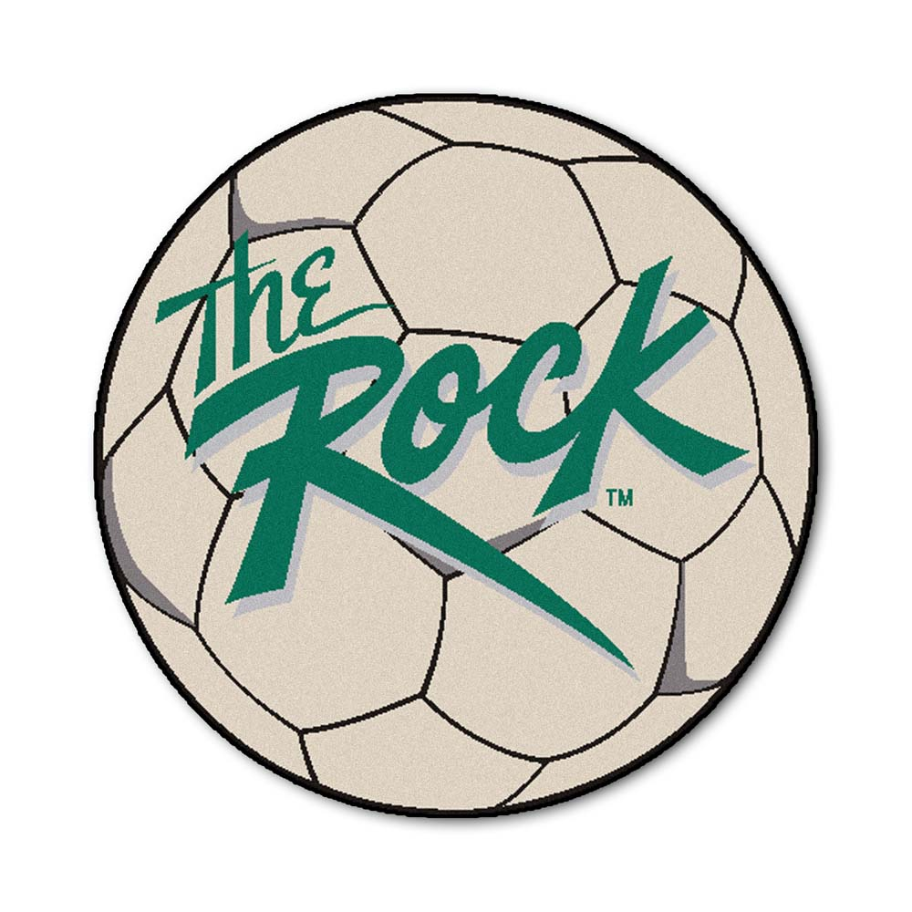 "Slippery Rock University 27"" Round Soccer Ball Mat"