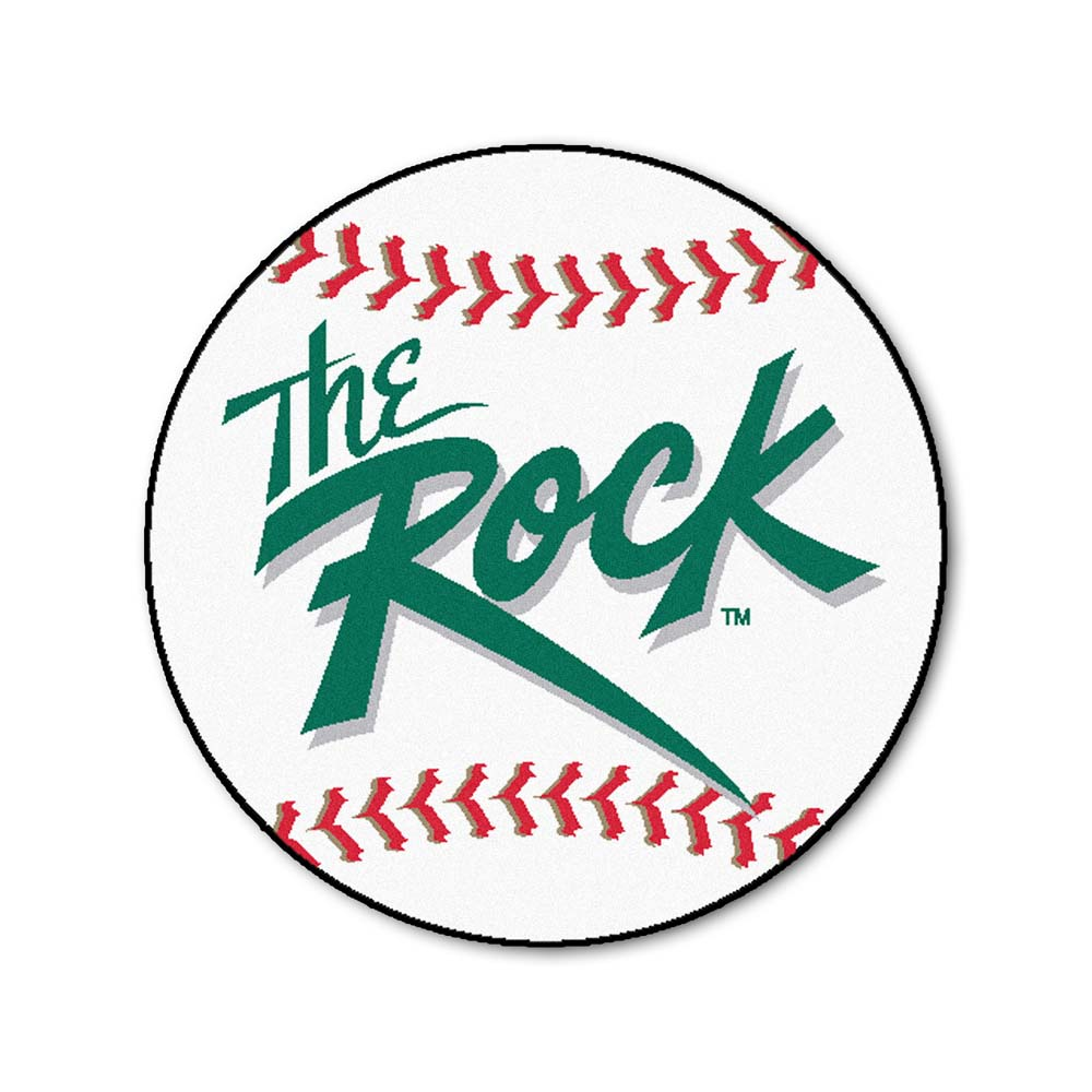 "Slippery Rock University 27"" Round Baseball Mat"