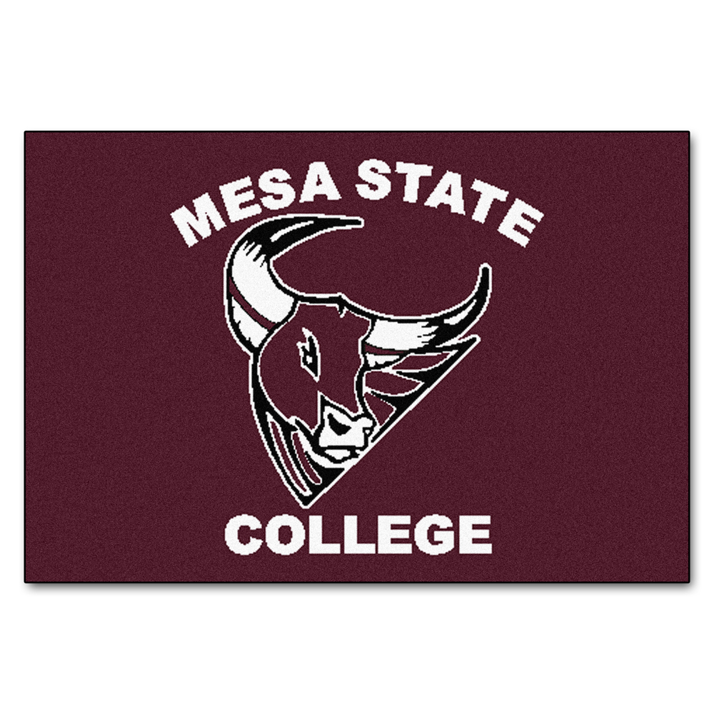 "Mesa State College Mavericks 34"" x 45"" All Star Floor Mat"