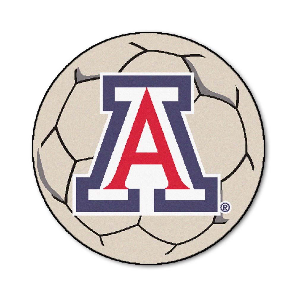 """27"""" Round Arizona Wildcats Soccer Mat"""