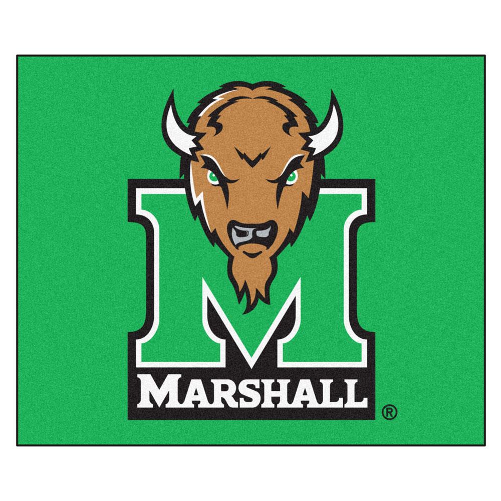 5 x 6 Marshall Thundering Herd Tailgater Mat