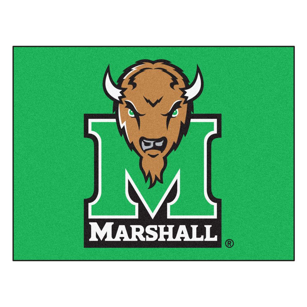 34 x 45 Marshall Thundering Herd All Star Floor Mat