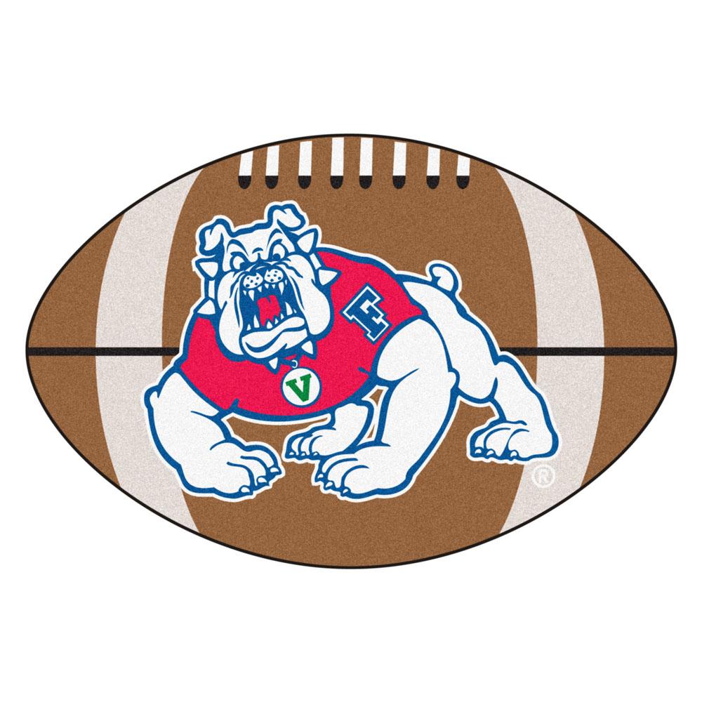 "22"" x 35"" Fresno State Bulldogs Football Mat"