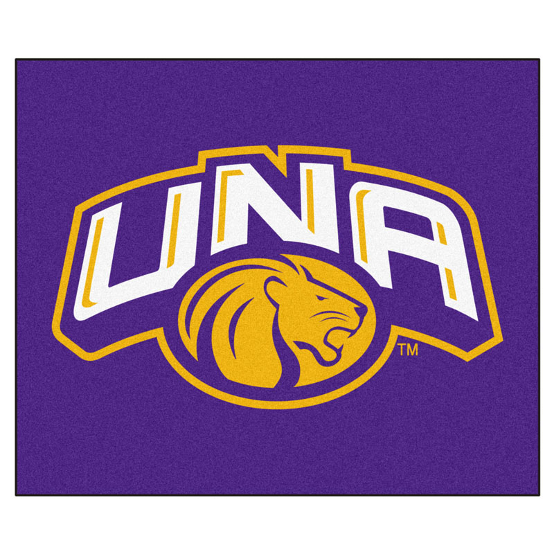 5' x 6' North Alabama Lions Tailgater Mat