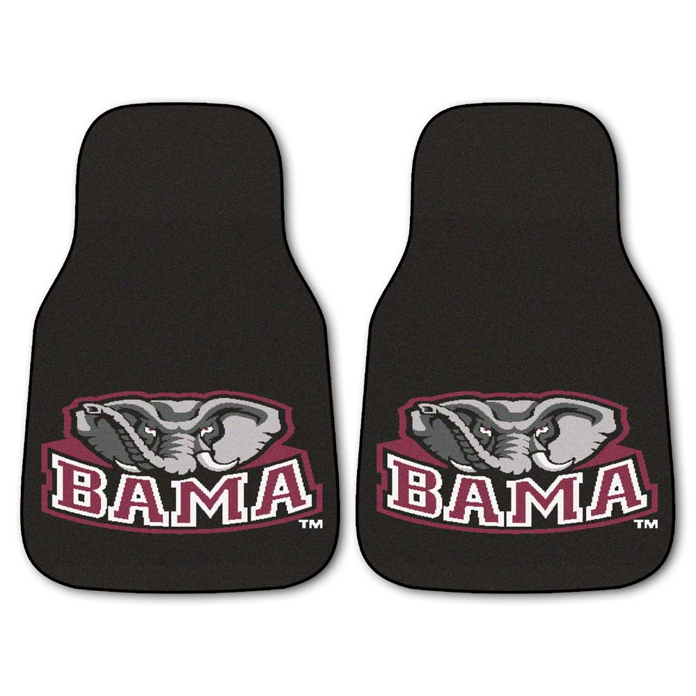 "Alabama Crimson Tide 27"" x 18"" Auto Floor Mat (Set of 2 Car Mats)"