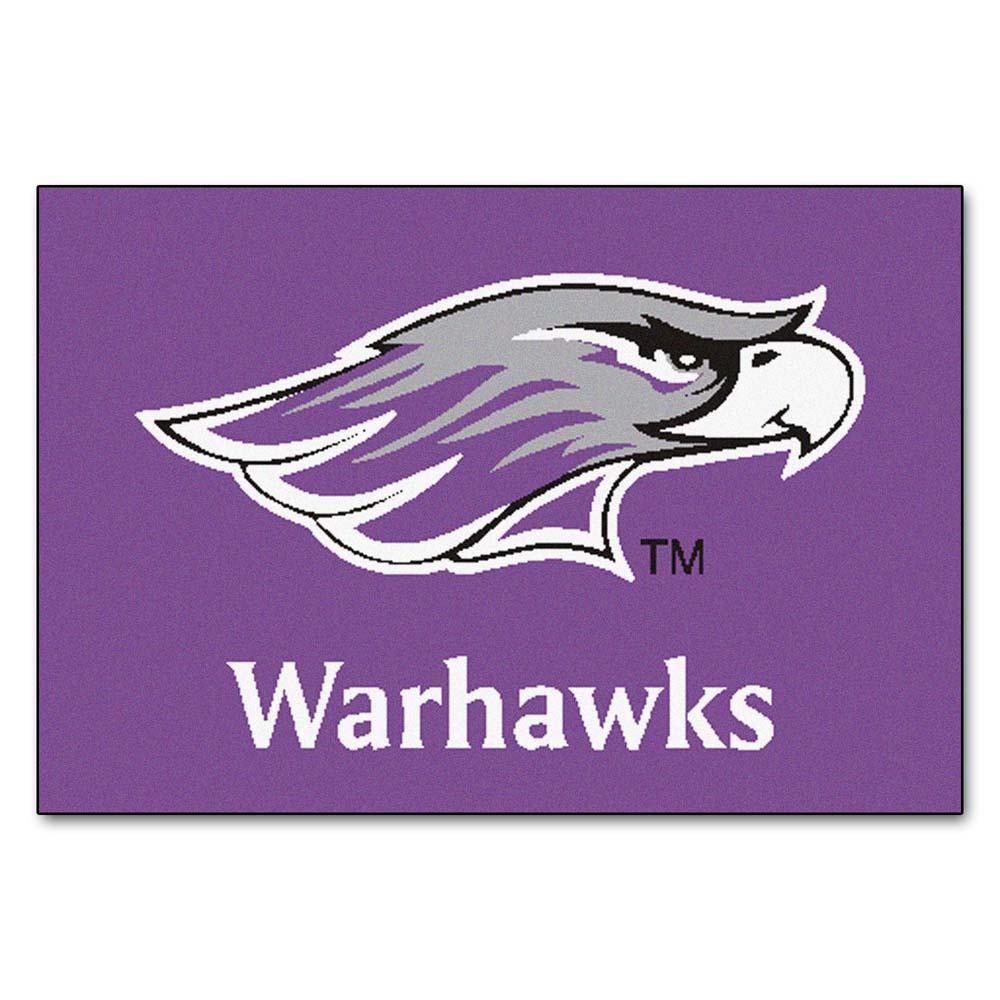 "Wisconsin (Whitewater) Warhawks 19"" x 30"" Starter Mat"