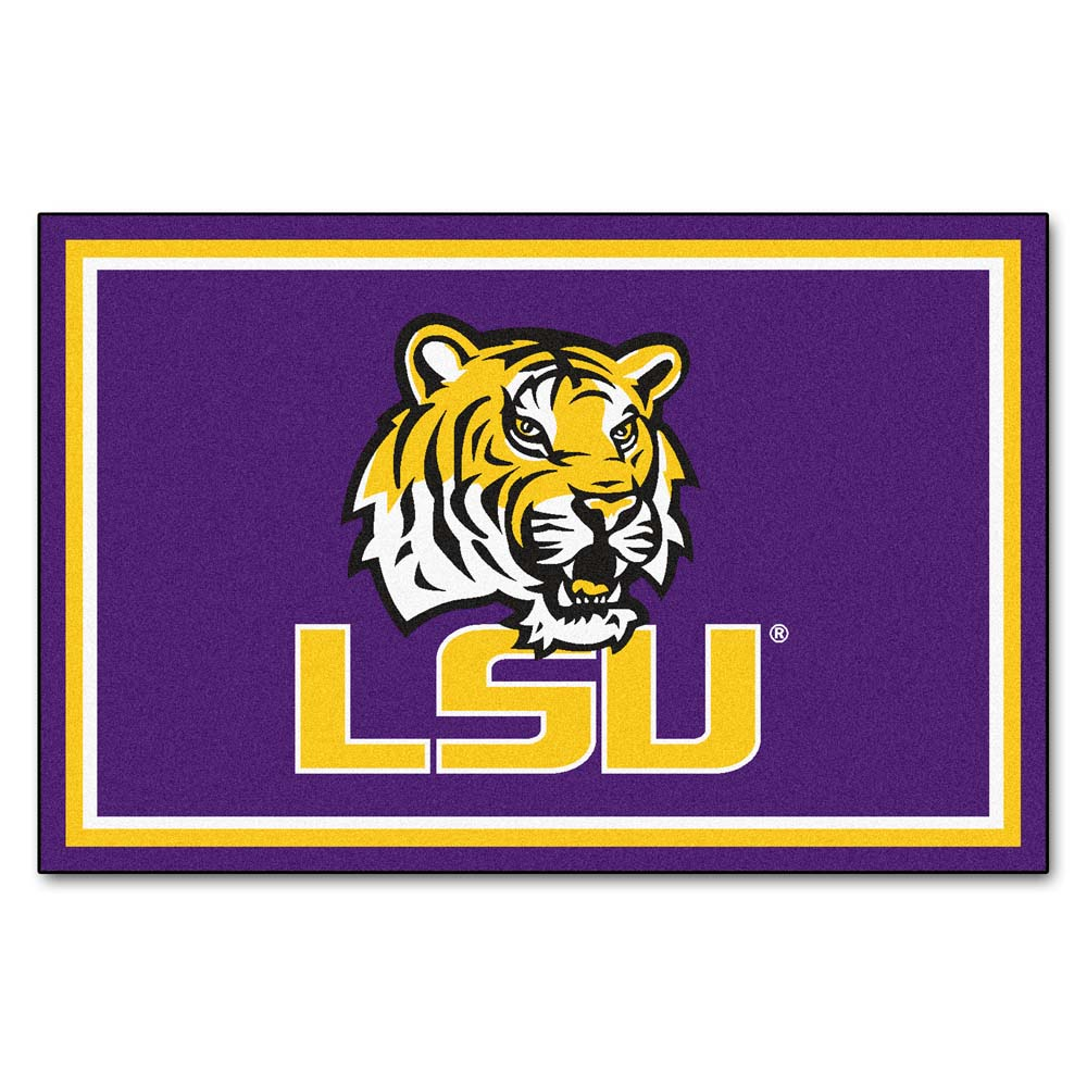 Louisiana State (LSU) Tigers 5' x 8' Area Rug