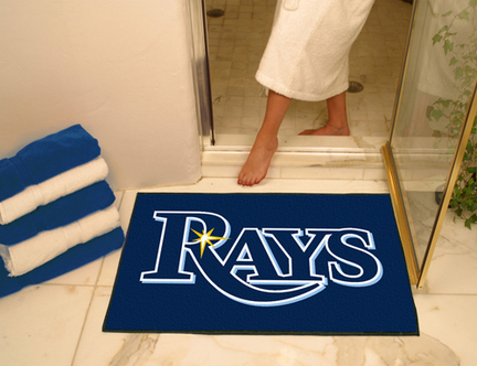 34in x 45in Tampa Bay Rays All Star Floor Mat