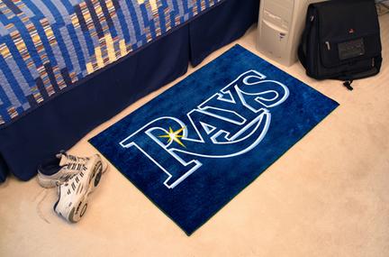 Tampa Bay Rays 19in x 30in Starter Mat