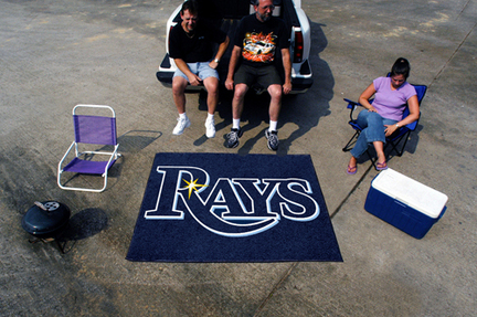 5' x 6' Tampa Bay Rays Tailgater Mat