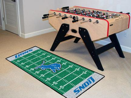 "Image of Detroit Lions 30"" x 72"" Football Field Runner"