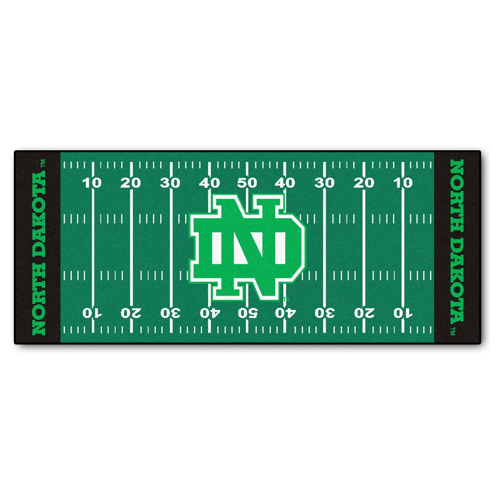 North Dakota  Sioux 30 x 72 Football Field Runner