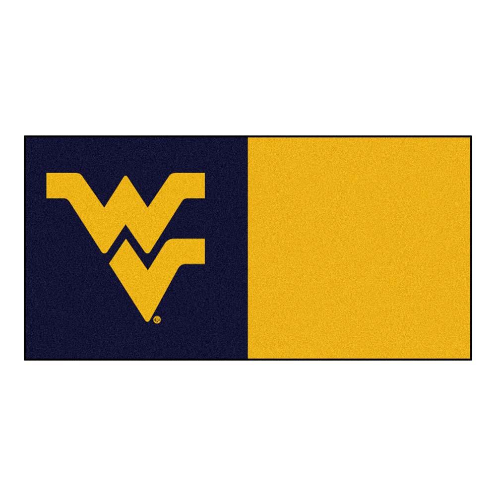 "West Virginia Mountaineers 18"" x 18"" Carpet Tiles (Box of 20)"