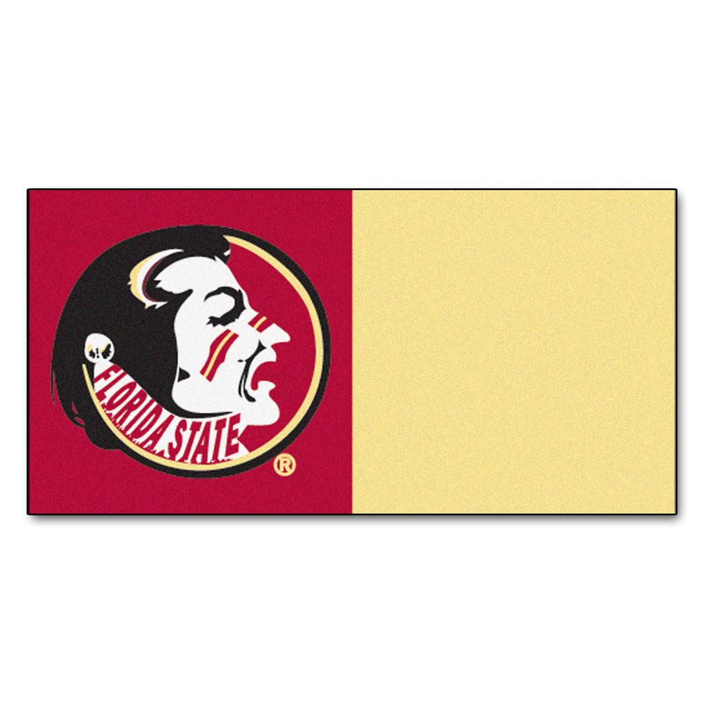 "Florida State Seminoles 18"" x 18"" Carpet Tiles (Box of 20)"