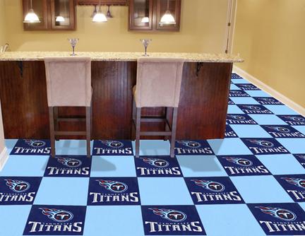 "Tennessee Titans 18"" x 18"" Carpet Tiles (Box of 20)"