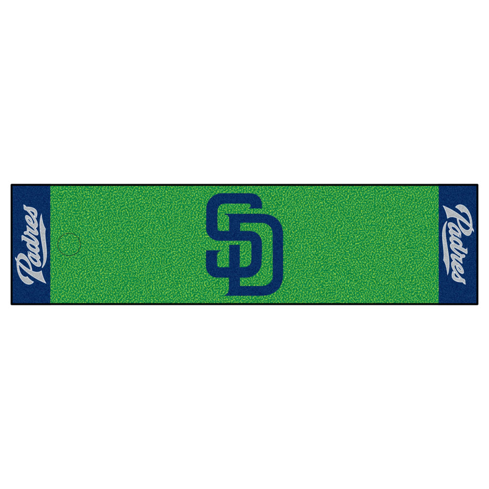 "San Diego Padres 18"""" x 72"""" Putting Green Runner"" FAN-9048"