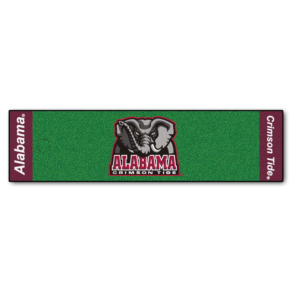"Alabama Crimson Tide 18"""" x 72"""" Putting Green Runner"" FAN-9064"