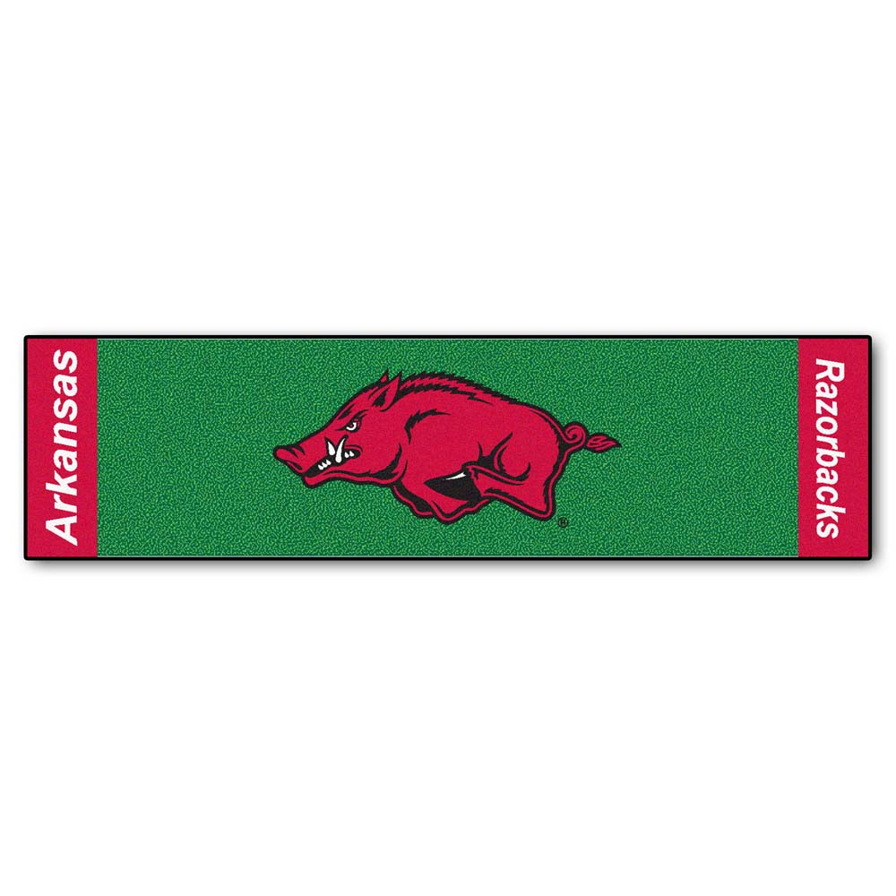 "Arkansas Razorbacks 18"" x 72"" Putting Green Runner"