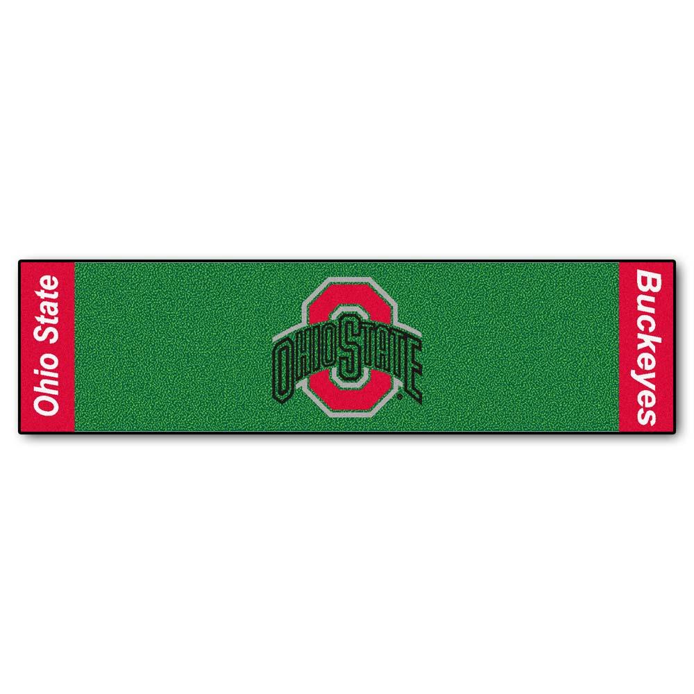 "Ohio State Buckeyes 18"""" x 72"""" Putting Green Runner"" FAN-9078"