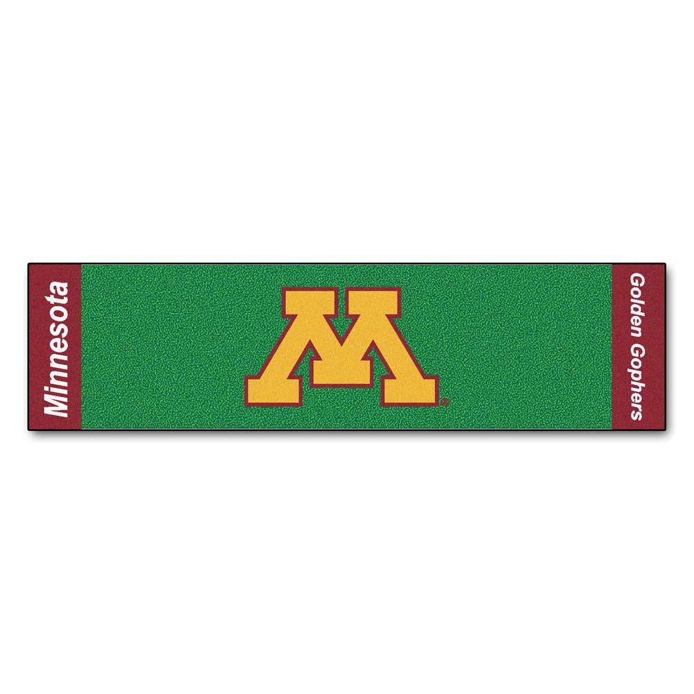 """Minnesota Golden Gophers 18"""" x 72"""" Putting Green Runner"""