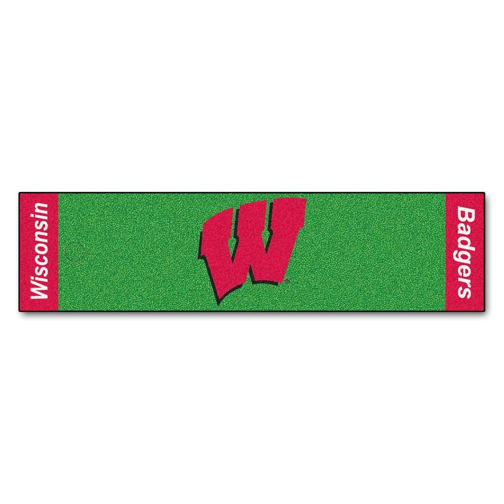 "Wisconsin Badgers 18"" x 72"" Putting Green Runner"