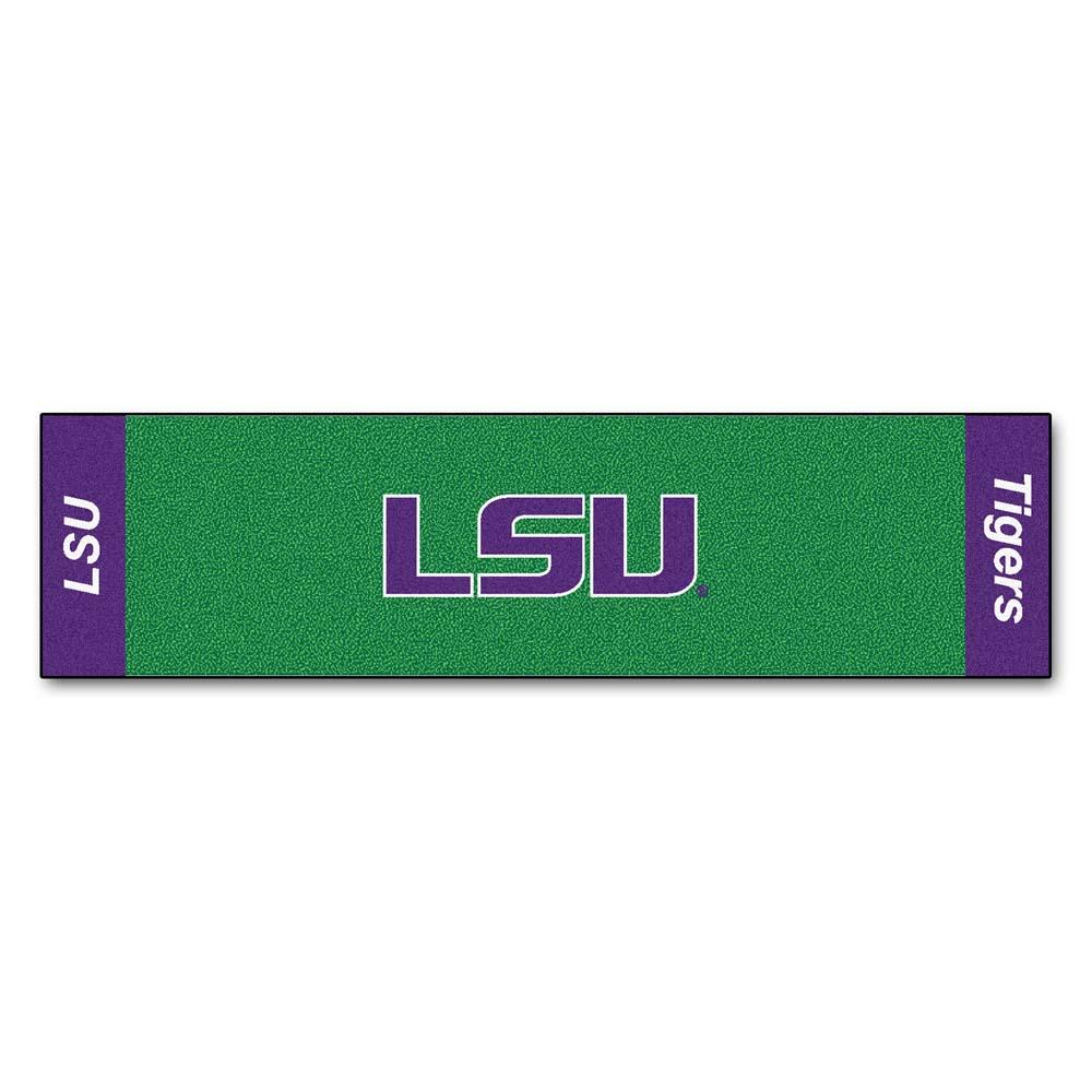 "Louisiana State (LSU) Tigers 18"""" x 72"""" Putting Green Runner"" FAN-9096"