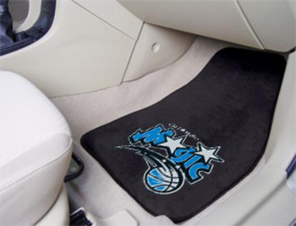 """Orlando Magic 18"""" x 27"""" Auto Floor Mat (Set of 2 Car Mats)"""