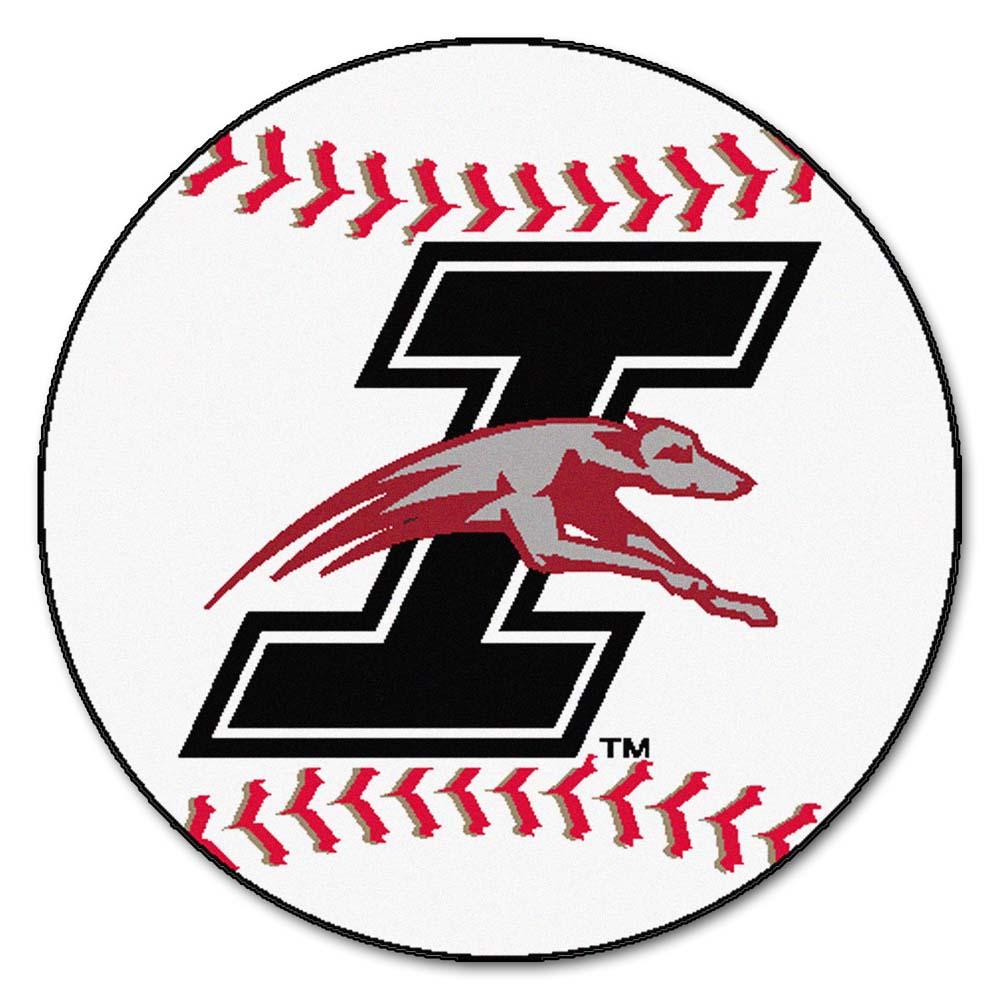 "Indianapolis Greyhounds 27"" Round Baseball Mat"
